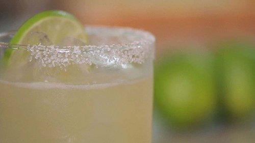 Cóctel Margarita sin alcohol